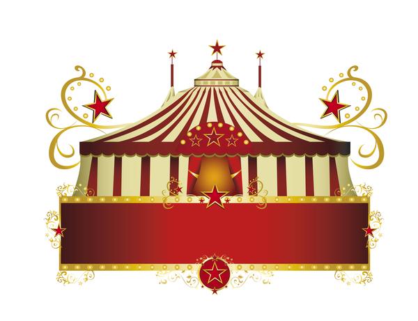 rosso cornice circo Bordo
