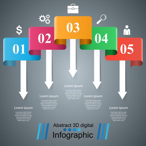 Infografik Farbe