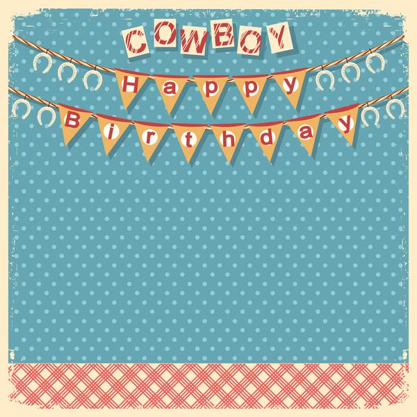 cowboy child birthday