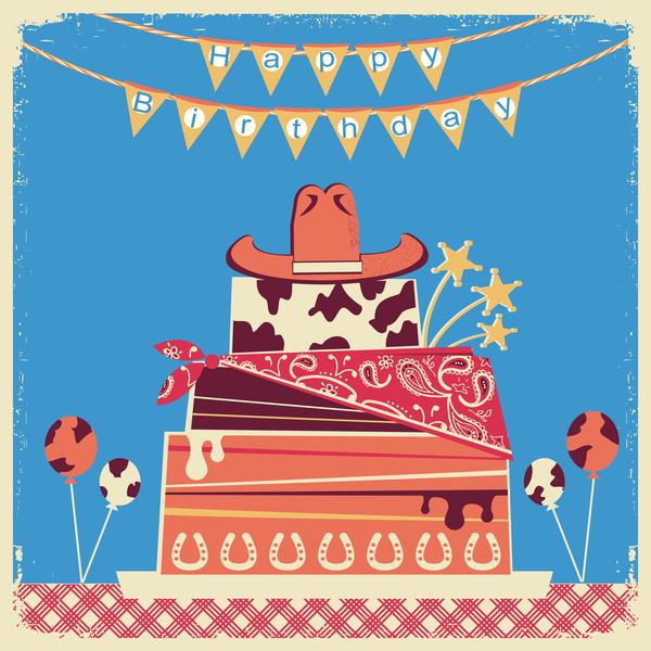 happy cowboy birthday
