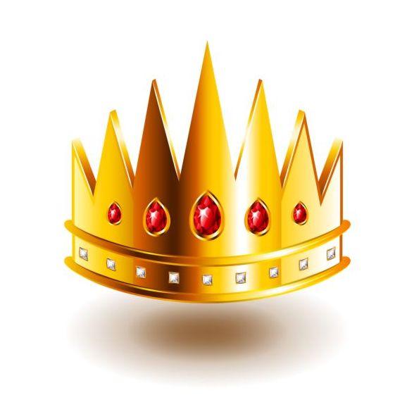 vassa tänder krona isolerad