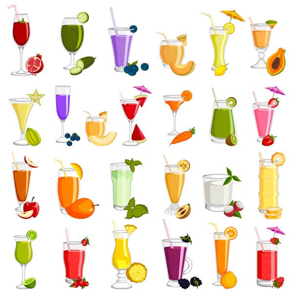 fruits delicious boisson