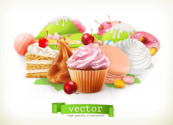 petit gâteau desserts