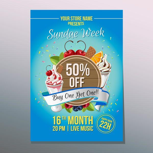 sundae poster happy