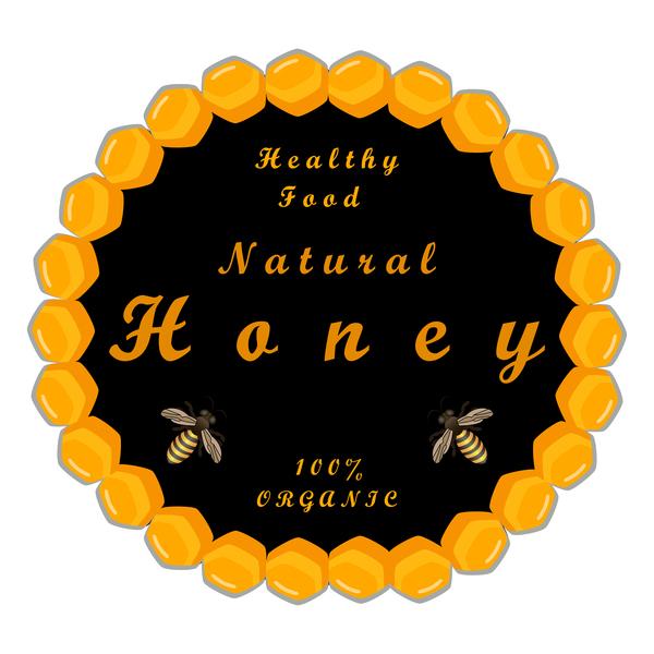 Lebensmittel Kreise Honig gesund