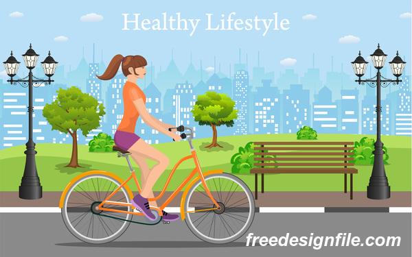 通り 自転車 市 健康 ライフスタイル