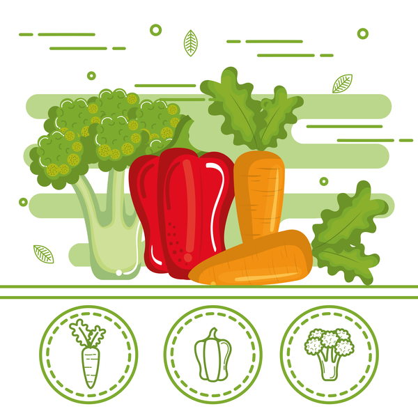gesund Gemüse