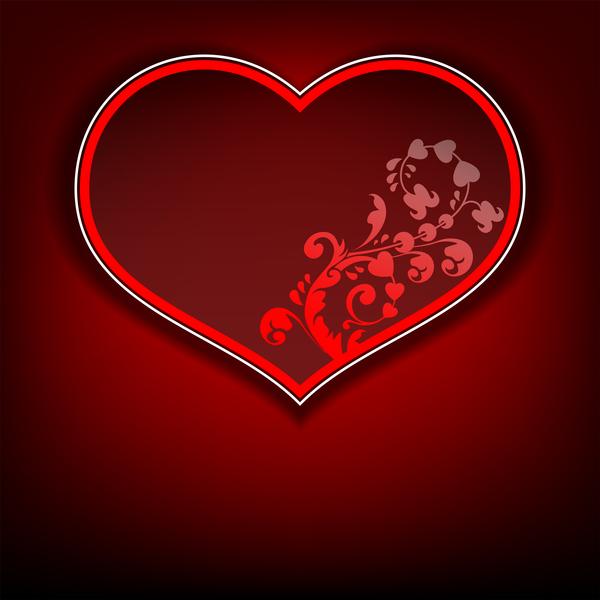 San Valentino cuore cornice arredamento
