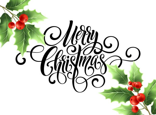 Noel joyeux houx
