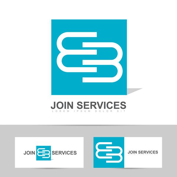 、結合、ロゴ、サービス