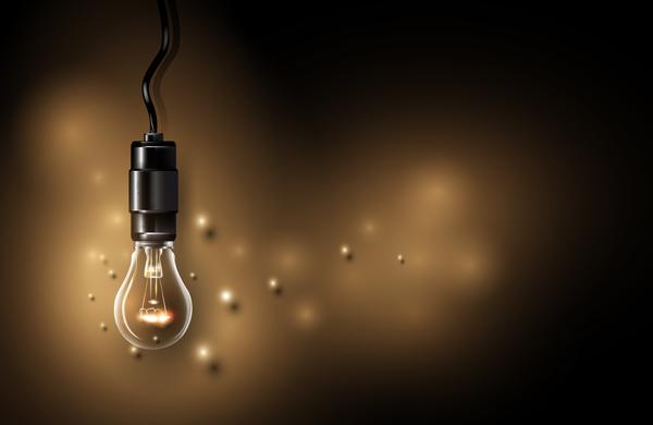 、電球、ランプ、ライト