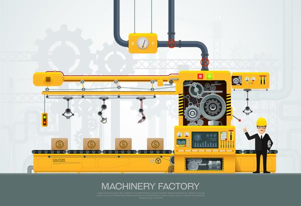 usine machine Entreprise