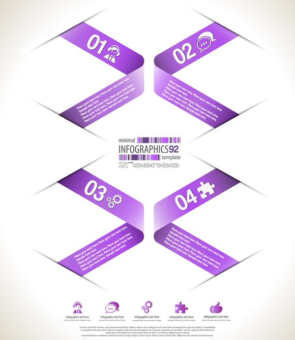 minimal infografica