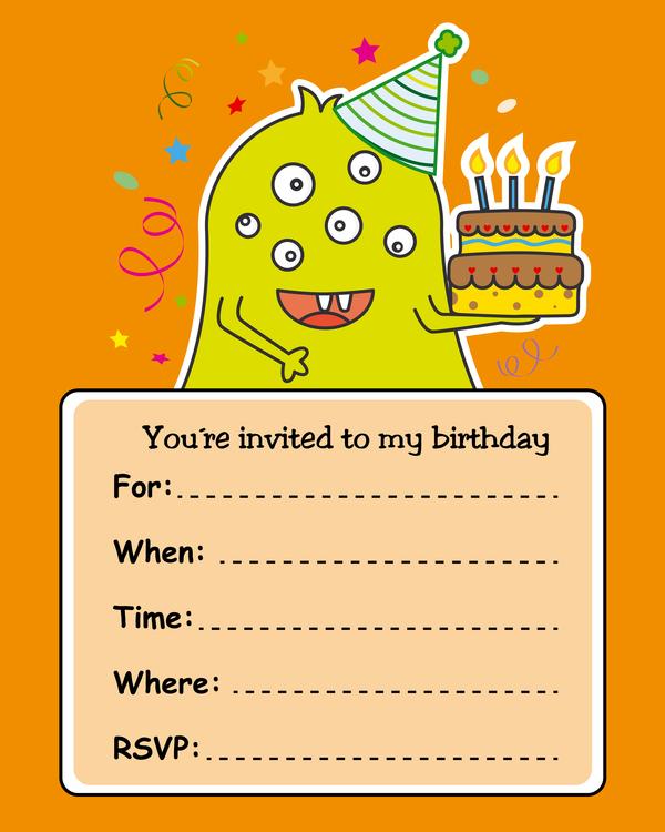 誕生日 モンスター カード