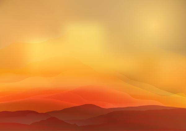 sunrise paysage nature montagne