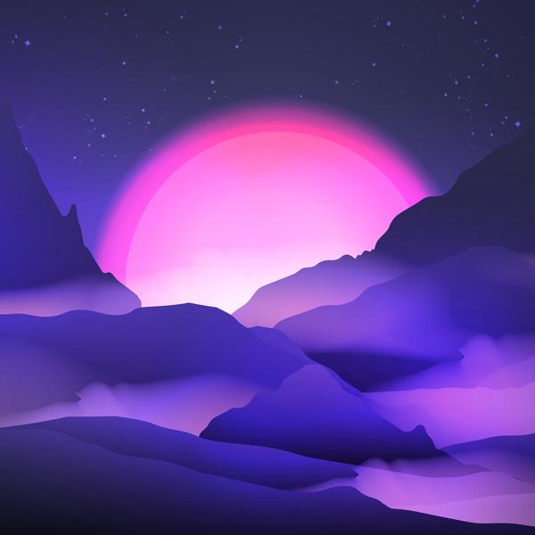 paesaggio Natura montagna Alba