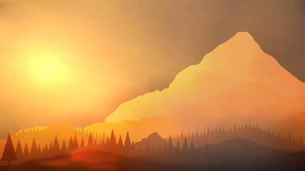 Sonnenaufgang Natur Landschaft Berge