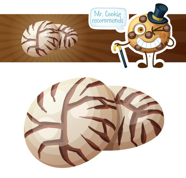 Pilz cookies