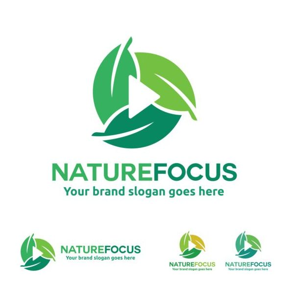 nature logo focus
