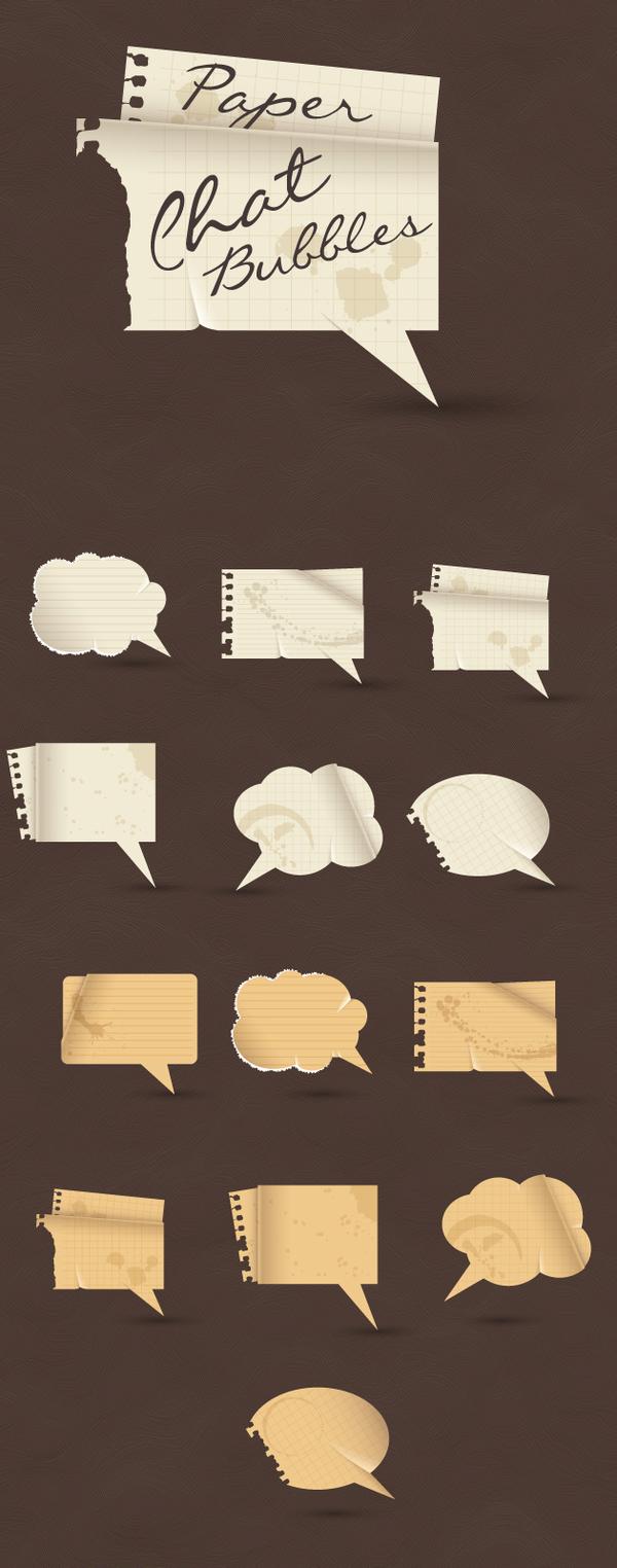 紙 泡 スピーチ