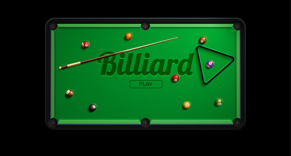 table pool billiard