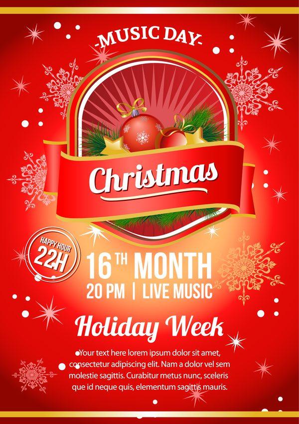 rod jul fest affisch