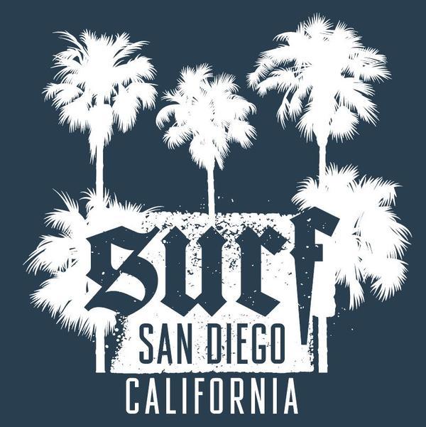 、サンディエゴ、san、サーフィン