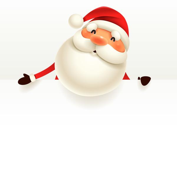 Zeichen Weihnachtsmann Weihnachten