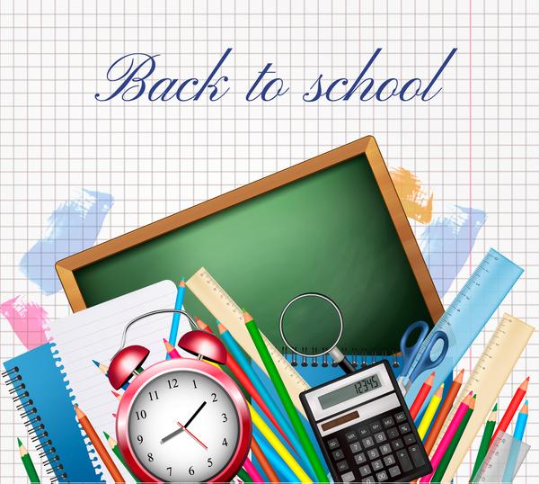 Tillbaka till skolan skola levererar