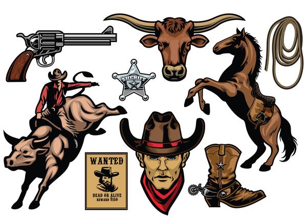 Objekte cowboy