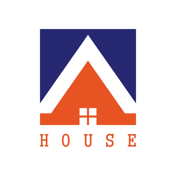 square logo house
