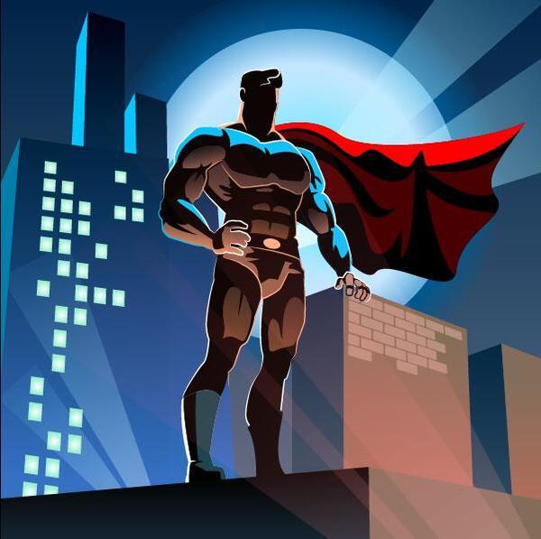 、都市、スーパーマン
