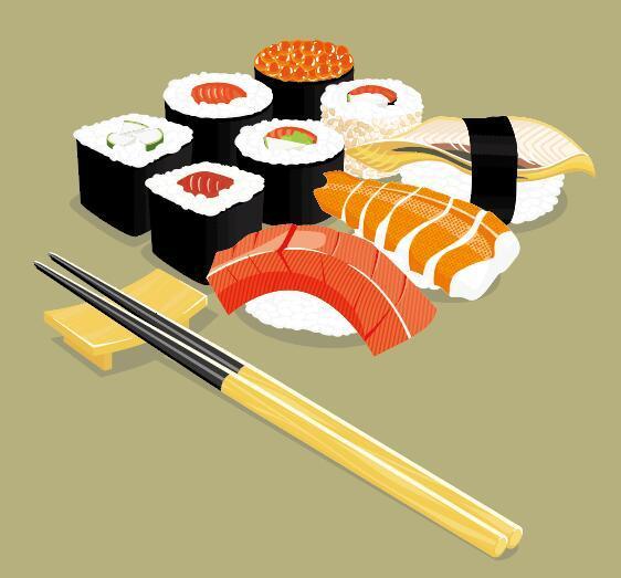 sushi Le bacchette