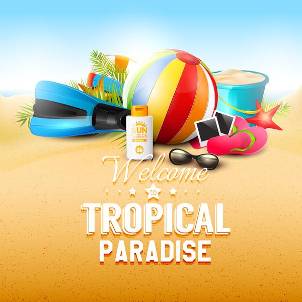 tropicali sabbia paradiso nuova