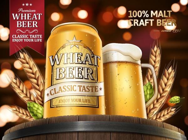 Weizen poster Bier