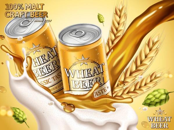 vete Öl affisch