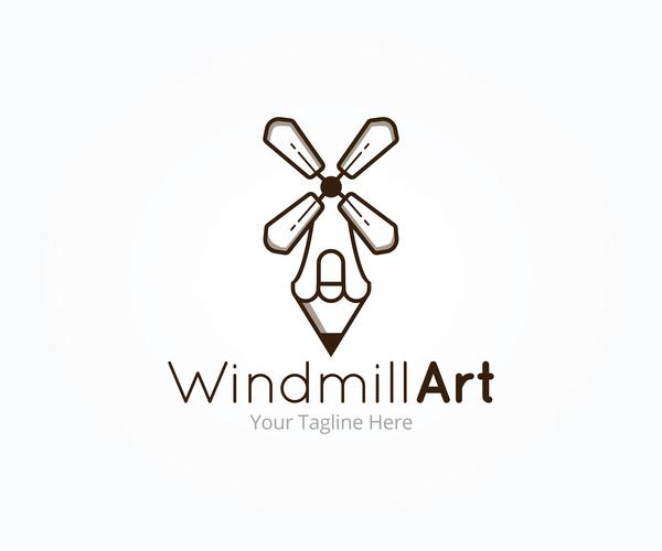 Moulin de l'art logo